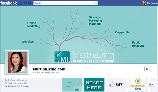 New Facebook design cover image