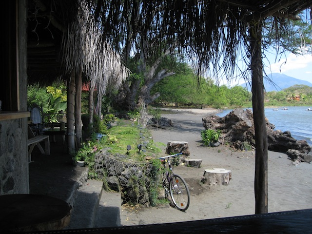 Ideal spot for a quiet little cafe on Ometepe Island. No menu, just talk to the owner about he has on hand to make for your lunch.