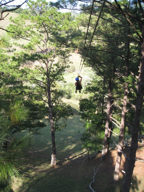 You don't necessarily need to re-invent the wheel, just be first to market. The 1st and only zipline in Nicaragua ~ north of San Rafael del Norte
