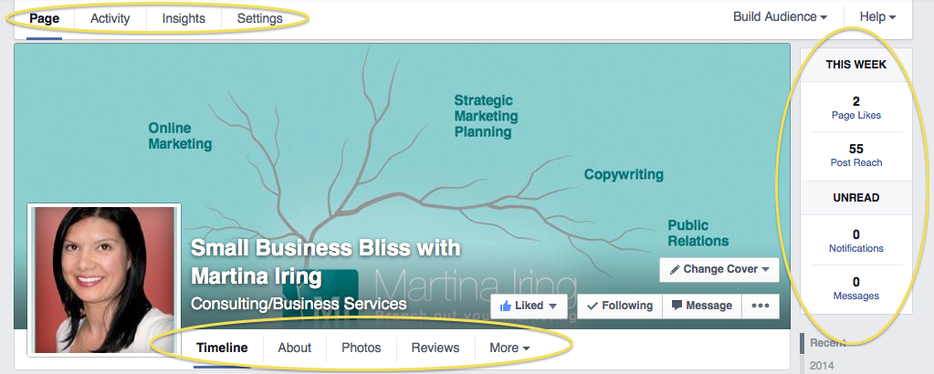 new Facebook navigation