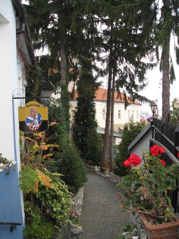 Restaurant walkway ~ Trencin, Slovakia
