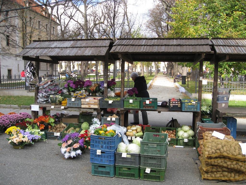 Farmer's market ~ Levoca, Slovakia