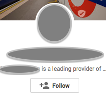 Google Plus Tagline Mistake