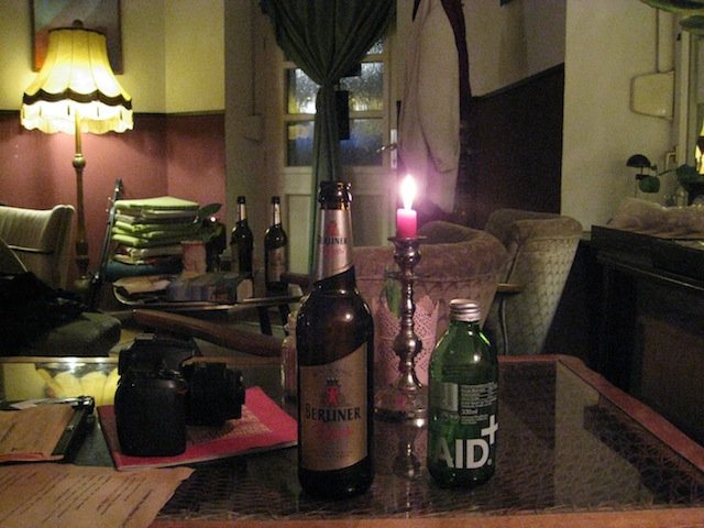 There's no cozier beer than one enjoyed in what feels like your grandma's sitting room - Berlin